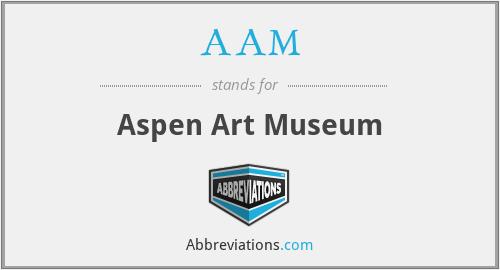 AAM - Aspen Art Museum
