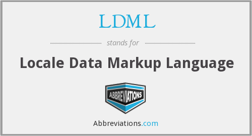 What does LDML stand for?