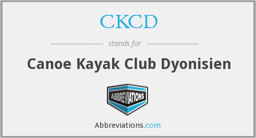 What does CKCD stand for?