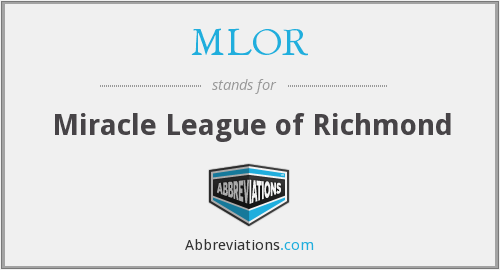 MLOR - Miracle League of Richmond
