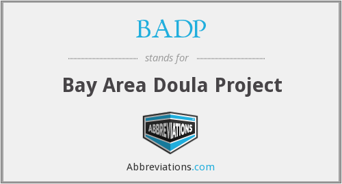 BADP - Bay Area Doula Project