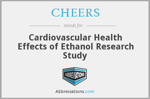 CHEERS - Cardiovascular Health Effects of Ethanol Research Study