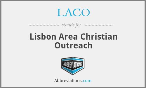 LACO - Lisbon Area Christian Outreach
