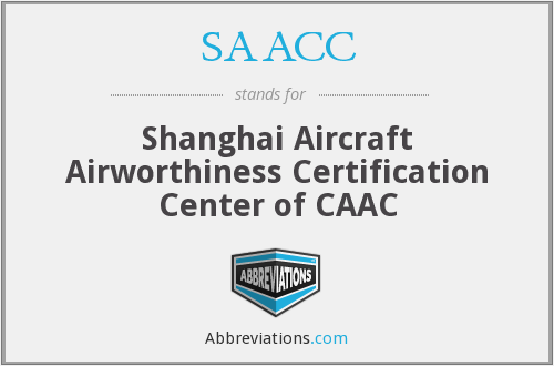 What does SAACC stand for?
