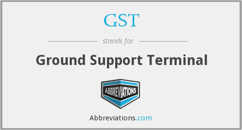 GST - Ground Support Terminal