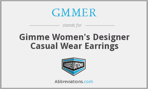 What does earrings stand for?
