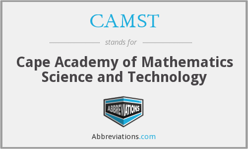 What does CAMST stand for?