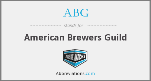 ABG - American Brewers Guild