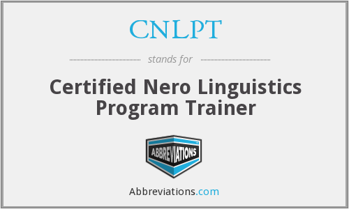 What does CNLPT stand for?