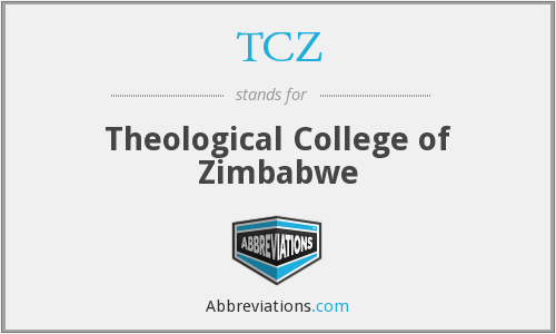 TCZ - Theological College of Zimbabwe