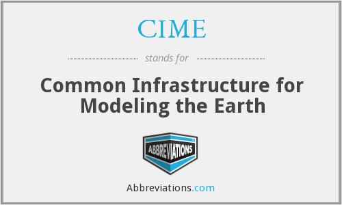 CIME - Common Infrastructure for Modeling the Earth