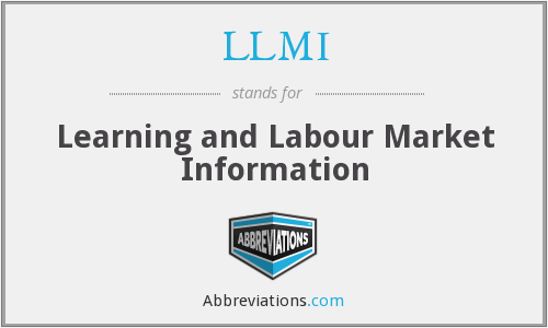 LLMI - Learning and Labour Market Information
