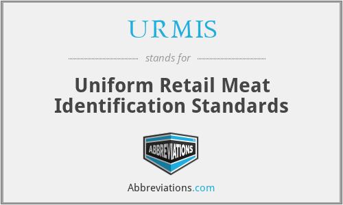 URMIS - Uniform Retail Meat Identification Standards