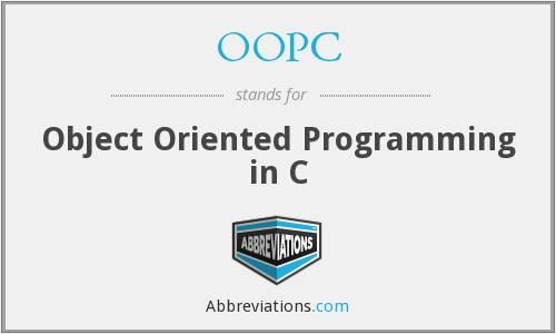 What does OOPC stand for?