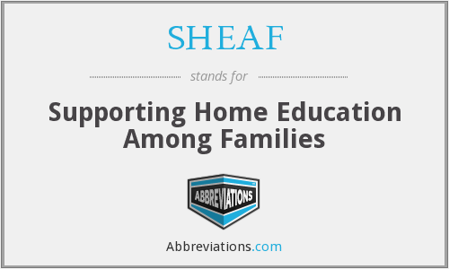 What does SHEAF stand for?