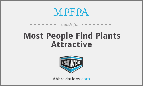 What does MPFPA stand for?