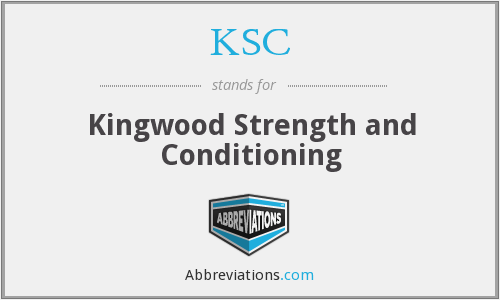 KSC - Kingwood Strength and Conditioning