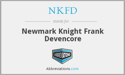 What does NKFD stand for?