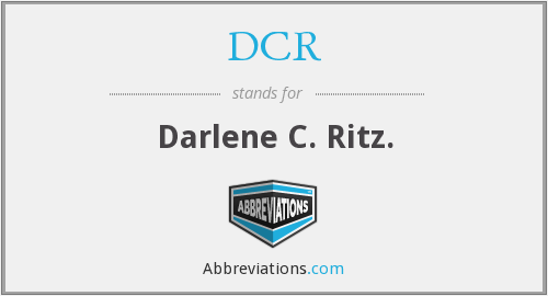 What does darlene stand for?