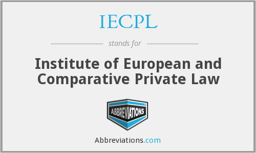 What does IECPL stand for?