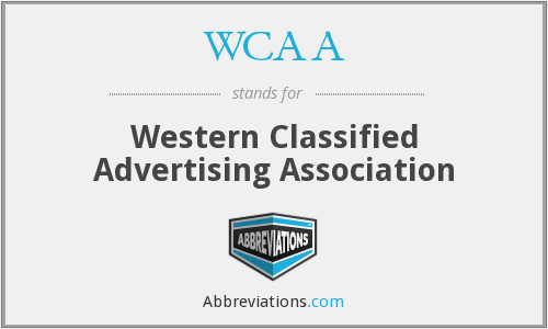 WCAA - Western Classified Advertising Association