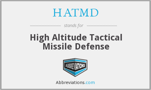 What does HATMD stand for?