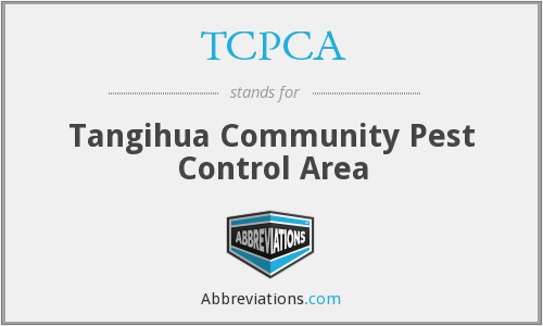 What does TCPCA stand for?