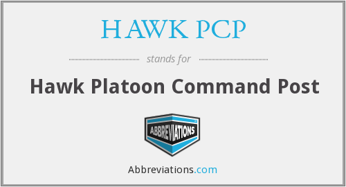 What does HAWK PCP stand for?