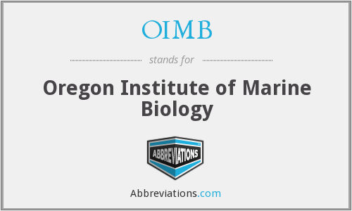 What does OIMB stand for?