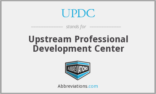 What does UPDC stand for?