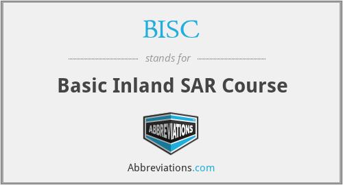 BISC - Basic Inland SAR Course