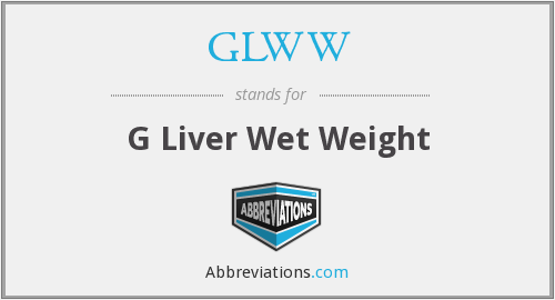 What does GLWW stand for?