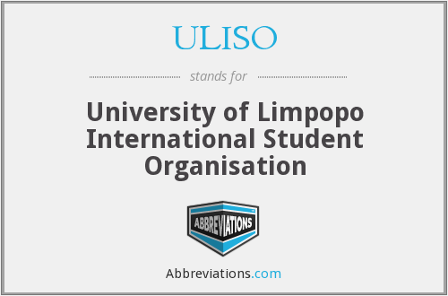 What does ULISO stand for?