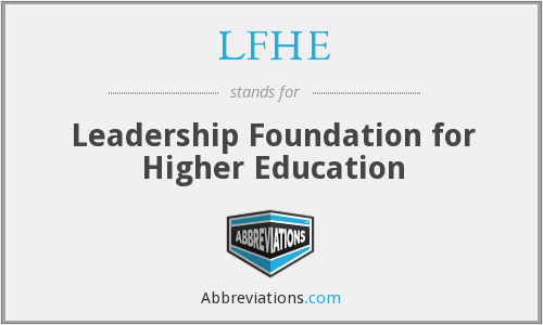 What does LFHE stand for?
