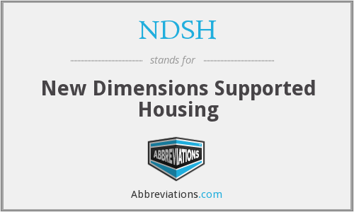 NDSH - New Dimensions Supported Housing