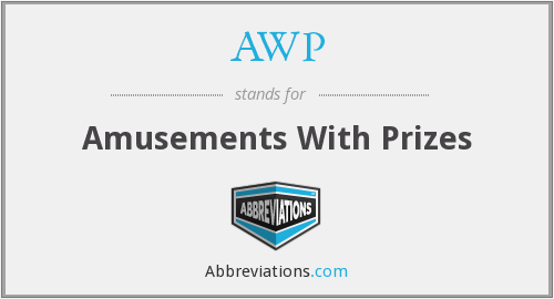 AWP - Amusements With Prizes