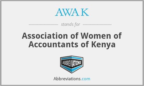 AWAK - Association of Women of Accountants of Kenya