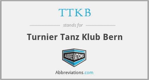 TTKB - Turnier Tanz Klub Bern
