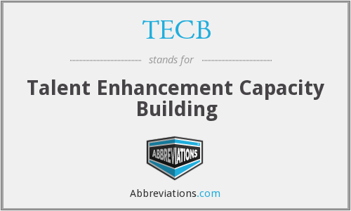 What does TECB stand for?
