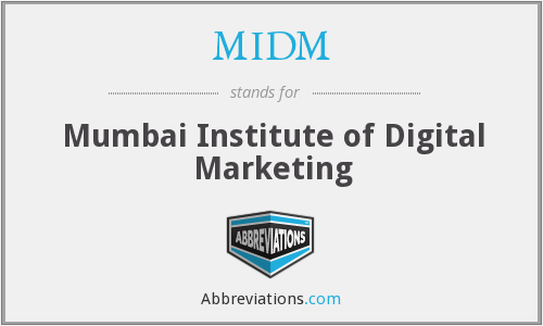 MIDM - Mumbai Institute of Digital Marketing