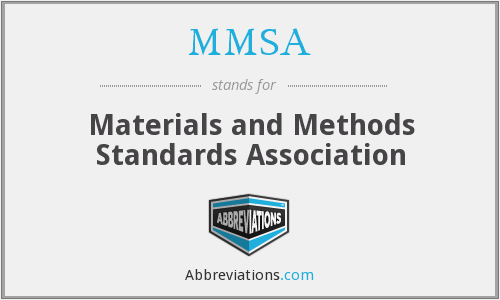 What does MMSA stand for?