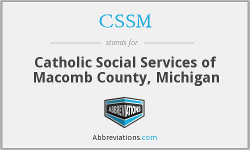CSSM - Catholic Social Services of Macomb County, Michigan