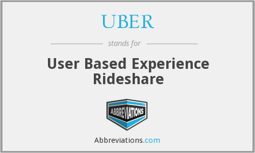 UBER - User Based Experience Rideshare