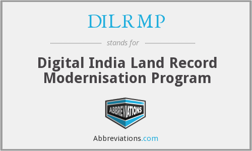 What does DILRMP stand for?