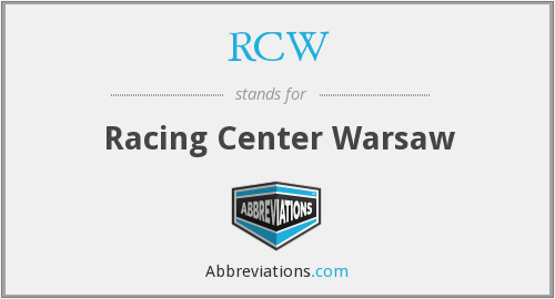 RCW - Racing Center Warsaw