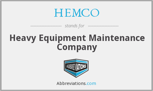 What does HEMCO stand for?