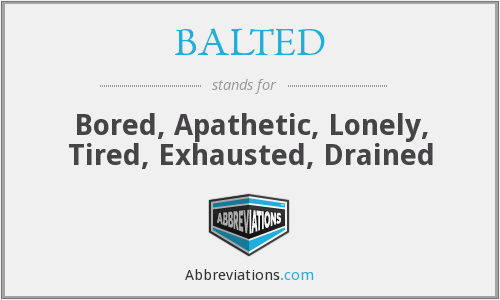 What does BALTED stand for?