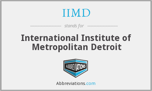 What does IIMD stand for?