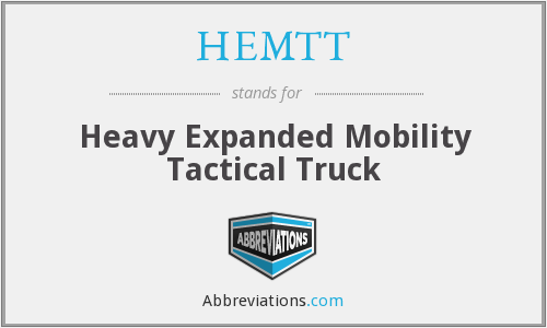 HEMTT - Heavy Expanded Mobility Tactical Truck