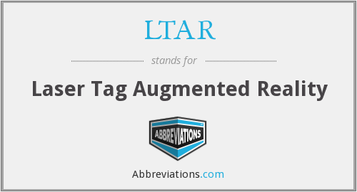 LTAR - Laser Tag Augmented Reality